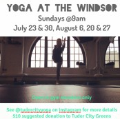 summer yoga at windsor