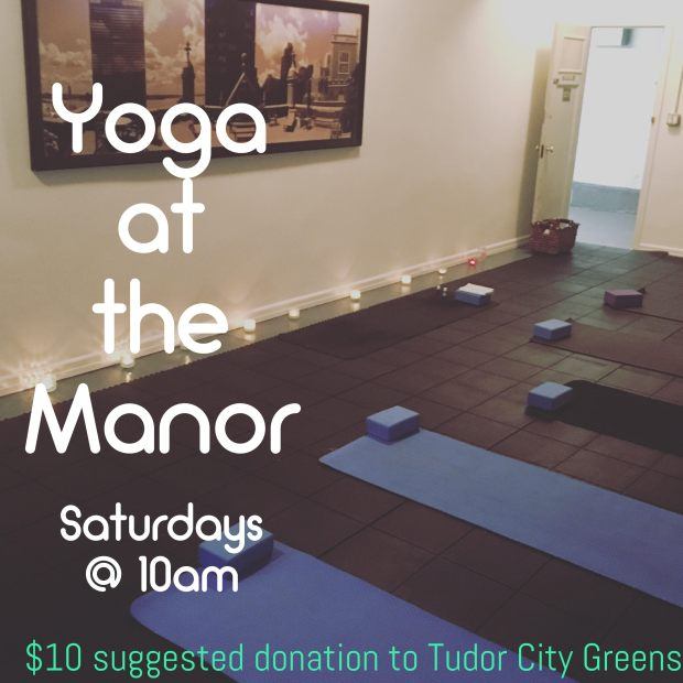 Yoga at the Manor April 2017