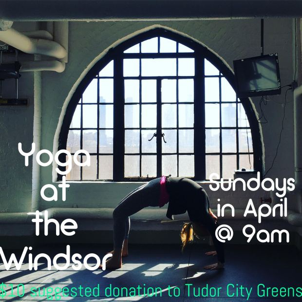 Yoga at the Windsor April 2017